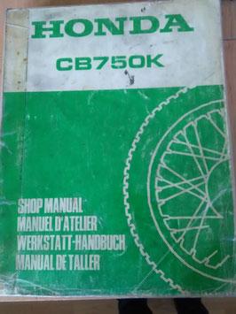 Honda CB 750 - Werkstatt - Handbücher im Paket
