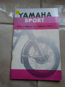 Yamaha Sport YAS - 3 – originale Raiders Manual