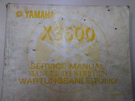 Yamaha XS 500 - originale Wartungsanleitung