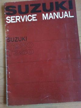 Suzuki T 250 / T 350 - originales Reperatur- Handbuch