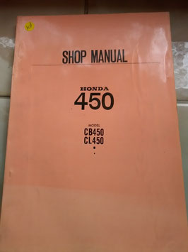 Honda CB/ CL 450 – Shop Manual