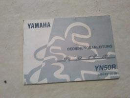 Yamaha YN 50 R – originale Bedienungsanleitung