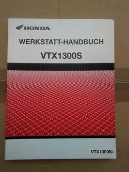 Honda VTX 1300 S Bj.1987– Werkstatt- Handbuch+ Zusatz im Paket