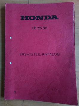 Honda CB 125 B6 - Ersatzteile-Katalog