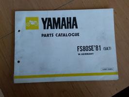 Yamaha FS 80 SE (5A7) - Parts-List