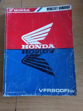 Honda VFR 800  - Werkstatt-Handbuch-Zusatz im Paket