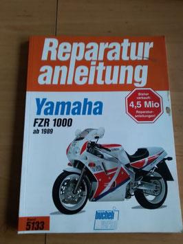 Yamaha FZR 1000 - originale Reperaturanleitung
