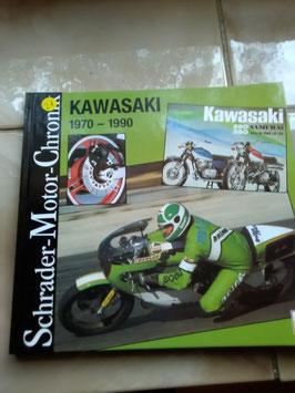 Kawasaki , Schrader- Motor-Chronik 1970-1990