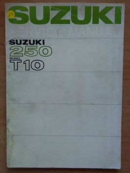Suzuki 250 Repair Book - Service Manuel