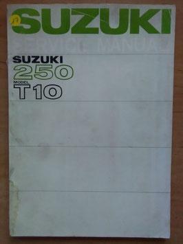 Suzuki 250 Repair Book - Service Manuel