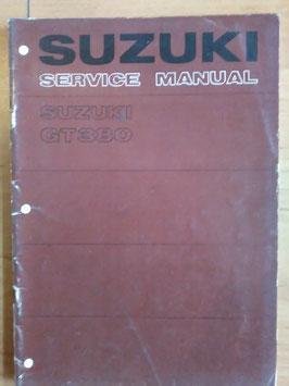 Suzuki GT 380 - originales Werkstatt- Handbuch