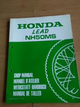 Honda NH 50 MS - Werkstatt-Handbuch-Zusatz
