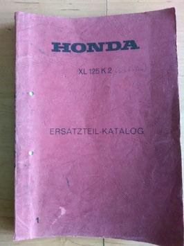 Honda XL 125 K2 - Ersatzteile-Katalog