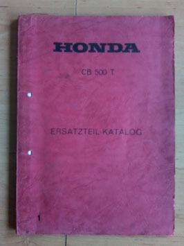 Honda CB 500 T - Ersatzteile-Katalog