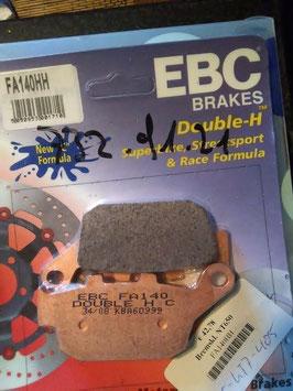 EBC- Bremsbeläge FA 140 HH
