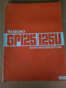 Suzuki GP 125/ U - Wartungsanleitung