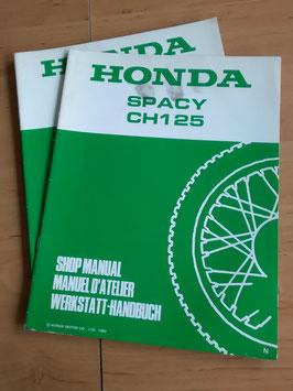 Honda CH 125 Spacy - Werkstatt-Handbuch - Zusätze