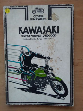 Kawasaki 250 and 350 cc Twins - Service Repair Handbook