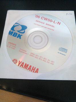 Yamaha Werkstattbücher auf CD (original) - 50 ccm