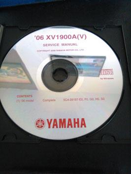 Yamaha Werkstatthandbücher auf CD (original) - ' 07 XV 1900