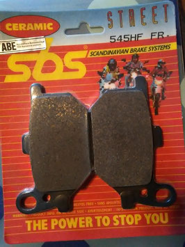 SBS– Bremsbeläge 545 HF FR