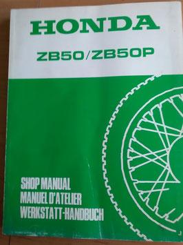 Honda ZB 50 ● ZB 50P- Werkstatt-Handbuch
