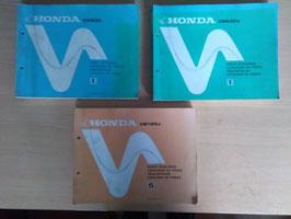 Honda Werkstatt-Handbücher zB: CB 650, CB 125 J*