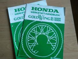 Honda GL 1200 Goldwing -  Werkstatt-Zusatz- Handbücher im Paket