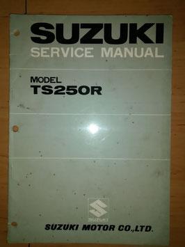 Suzuki TS 250 R - originales Werkstatt- Handbuch