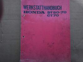 Honda Oldtimer Werkstatt-Handbuch - ST 50-70 / CT 70