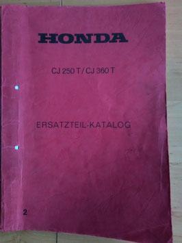Honda CJ 250T / 360T - Ersatzteile-Katalog