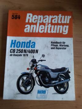 Honda CB 250 N/400 N (ab '78) - Reperaturanleitung