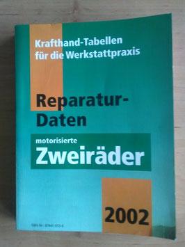 Motorrad Repertaur-Daten - motorisierte Zweiräder (2002)