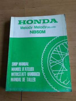 Honda NB 50 M - Werkstatt-Handbuch