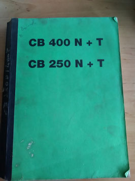 Honda CB 250N / CB 400 N/T -          3 Werkstatthandbücher im Paket