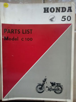 Honda C 100 / 50 Part List