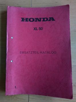 Honda XL 50 - Ersatzteile-Katalog