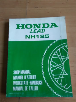 Honda NH 125 LEAD - Werkstatt-Handbuch