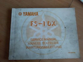 Yamaha FS 1-DX-  Wartungsanleitung
