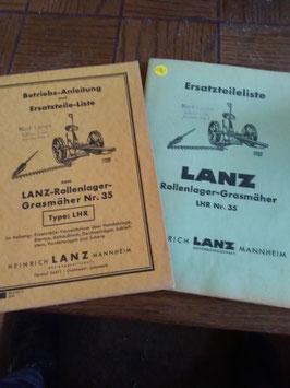 Lanz - Rollenlager Grasmäher Nr. 35 Typ LHR
