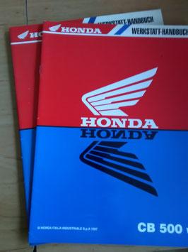 Honda CB 500- Werkstatt-Handbuch- Zusätze