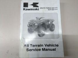 Kawasaki Quad Werkstatt- Handbuch