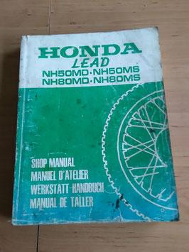 Honda NH 50 MD/MS ∙ NH 80 MD/MS - Werkstatt-Handbuch