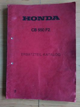Honda CB 550 F2 - Ersatzteile-Katalog