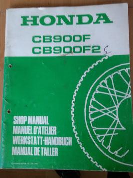 Honda CB 900 - Werkstatt - Zusatz - Handbuch