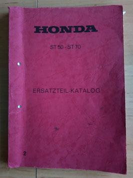 Honda ST 50/ST 70- Ersatzteile-Katalog