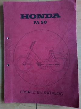 Honda PA 50 - Ersatzteile-Katalog