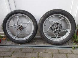 Suzuki GS 750 - Paar origianale Räder