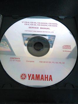 Yamaha Werkstatthandbücher auf CD (original) - FZ 6