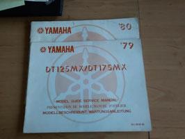 Yamaha DT 125 MX / DT 175 MX - Wartungsanleitung